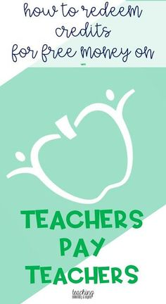 Redeeming Credits on TpT - teaching elementary & beyond