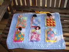 Play Quilt with Dolls