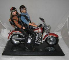 Mattel Barbie Ken Harley Davidson Riding Fat Boy Harley Motorcycle Awesome | eBay