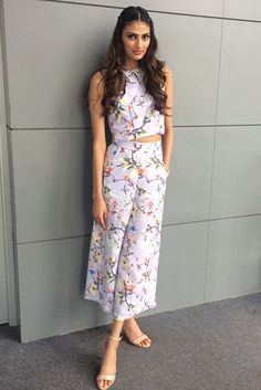 Athiya Shetty in Sapphire Glam Dresses, Dress Outfits, Nice Dresses, Casual Dresses, Fashion Dresses, Indian Designer Outfits, Indian Outfits, Designer Dresses, Western Dresses