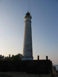 Point Pedro Lighthouse of Sri Lanka