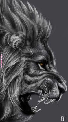 Lion by adorables funny graciosos hermosos salvajes tatuajes animales Lion Wallpaper, Animal Wallpaper, Teal Wallpaper, Lion Tattoo Sleeves, Sleeve Tattoos, Animals Beautiful, Cute Animals, Wal Art, Lion Tattoo Design