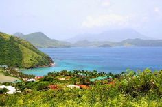Frigate Bay in Saint Kitts