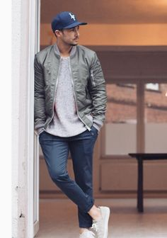 Random Men's Casual Inspiration. Cool and Fresh Street Style! Follow rickysturn/mens-casual