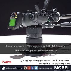 #Canon announce a 250MP APS-H CMOS sensor & a 120MP prototype camera