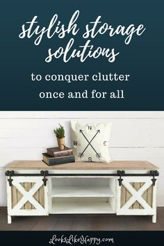 Conquer Clutter Once