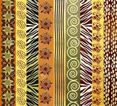African Pattern Cliparts, Stock Vector And Royalty Free African ...