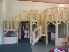 A Classroom loft, lucky school! Kindergarten Classroom Decor, Montessori Classroom, Classroom Design, Classroom Ideas, Daycare Design, Indoor Playhouse, Teaching Plan, Room Layouts, Herefordshire
