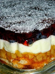 Cake Recipes, Dessert Recipes, Polish Recipes, Cake Flavors, No Bake Cake, Waffles, Sweet Tooth, Cheesecake, Food And Drink