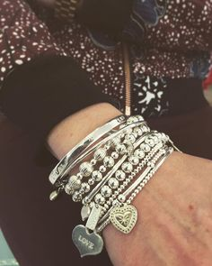 Elaine is loving her #chlobo pieces. Call into our store on 11 Catherine St. For your exclusive Chlobo stackable pieces. They're sterling silver and start at €40! #chlobojewellery #fblogger #irishbboutique #exclusive #style #instadaily #instafashion #fashion #jewellery #odonnellboutique
