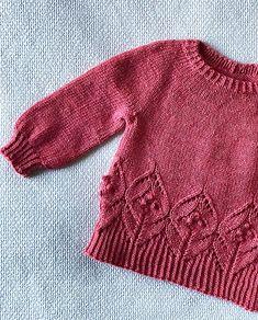 Ravelry: Magnolia Mini pattern by Camilla Vad Kids Knitting Patterns, Baby Sweater Patterns, Knitting For Kids, Knitting Designs, Hand Knitting, Baby Sweaters, Girls Sweaters, Hand Knit Blanket, How To Purl Knit