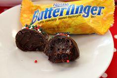 Butterfinger Truffles.