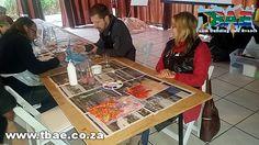 Stellenbosch University Art Workshop and Murder Mystery  #artworkshop #murdermystery #teambuilding #stellenboschuniversity #tbaeteam building Stellenbosch