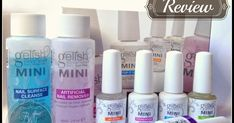 PRESS SAMPLE     Hey! How are you?! Today I'm presenting you Gelish Starters Kit or Gelish Mini Starters Kit and a HOW TO apply gel polish ...