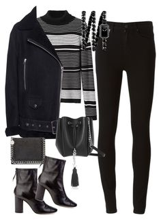 """""""Sans titre #2605"""" by christina95styles ❤ liked on Polyvore featuring Paige Denim, Acne Studios, Yves Saint Laurent, Isabel Marant, STELLA McCARTNEY and Chanel"""