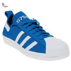 Adidas Superstar 80's Primeknit Femme Baskets Mode Bleu - Chaussures adidas (*Partner-Link)