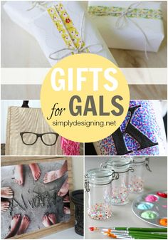 12 Gifts for Gals | perfect for Mother's Day | super cute handmade gifts