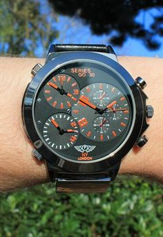 Retro-Futuristic 3 Time Zone Watch €13.68 Time Zones, Retro Futuristic, Omega Watch, Watches For Men, Ties, Accessories, Top Mens Watches, Tie Dye Outfits, Neck Ties