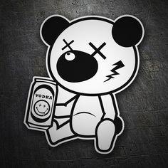 Pegatinas: Oso borracho #coche #pegatina #sticker Graffiti Art, Graffiti Doodles, Graffiti Cartoons, Graffiti Characters, Graffiti Drawing, Cartoon Tattoos, Cartoon Drawings, Cartoon Art, Art Drawings
