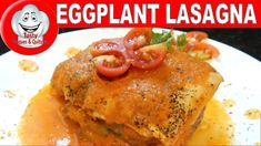 LASANHA DE BERINJELA COM HAMBURGUER, EGGPLANT LASAGNA WITH HAMBURGER Good Food, Yummy Food, Tasty, Eggplant Lasagna, Best Food Ever, Amazing Recipes, Hamburger, Make It Yourself, Chicken