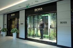 Boss Store w warszawskim Klifie Fashion Boutique, Boss, Windows, Store, Business, Shop, Storage, Window