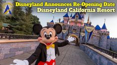 NEW VIDEO 🎥: Disneyland Resort announces reopening date for theme parks after yearlong closure: Disneyland California, Disneyland Resort, Parks, Mickey Mouse, Disney Characters, Fictional Characters, Dating, Closure, Quotes