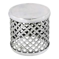Complete that look that you desire with our fantastic award winning furniture, and brighten up your home with this stunning round stool made from aluminium. Patio Chair Cushions, Patio Chairs, Modern Interior Design, Luxury Interior, Conservatory Dining Room, Old Time Pottery, Contemporary Lounge, Cheap Dining Room Chairs, Round Stool