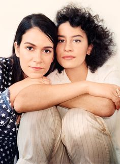 Anreas Laszlo Konrath shot Ilana Glazer and Abbi Jacobson for Marie Claire. Abbi Jacobson, Broad City, Milk Studios, Urban Legends, Celebs, Celebrities, Bellisima, Girl Crushes, Comedians