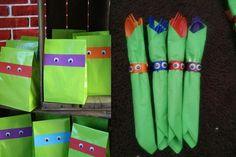 Totally Awesome Teenage Mutant Ninja Turtles Party Ideas! - Brisbane Kids