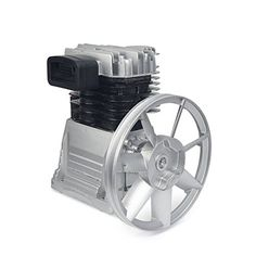 """11.5 CFM @ 145PS Heavy duty aluminum construction Splash lubrication keeps pump running cool Oil sight glass for easier maintenance Flywheel 10.5"""" with single V-groove MAX RPM 1200 RPM Compatible to 3HP Compressor Pump"""
