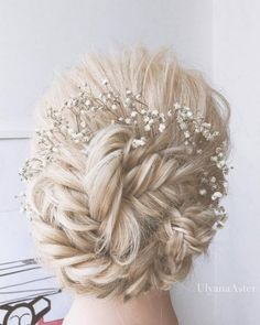 Ulyana Aster Romantic Long Bridal Wedding Hairstyles_23 ❤ See more: http://www.deerpearlflowers.com/romantic-bridal-wedding-hairstyles/