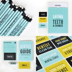 Dentist branding, by Design Ranch Dental Works, Orthodontics Marketing, Dentist Logo, Dental Office Design, Image Of The Day, Blog Design, Design Ideas, Identity Design, Graphic Design Inspiration