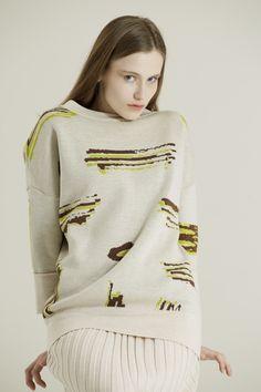 YELLOW MARKER – MOLO7 Markers, Yellow, Sweaters, Fashion, Moda, Sharpies, Fashion Styles, Sweater, Fashion Illustrations