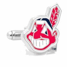 Cleveland Indians Cufflinks, MLB - Baseball Cufflinks / Cufflinksman