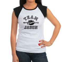 """These graphic tees and other items read """"team Jason"""" for fans of the troubled older brother of Alison in the TV show Pretty Little Liars."""