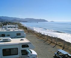 california full hook up camping