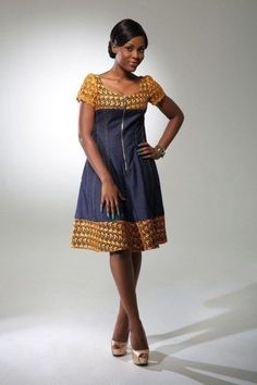 Trendy and Unique Ankara Styles ~Latest African fashion… African Dresses For Women, African Print Dresses, African Attire, African Fashion Dresses, African Wear, African Women, African Prints, African Fashion Designers, African Inspired Fashion