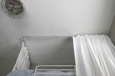 IKEA track for a better shower curtain around clawfoot tub?