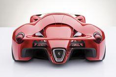 Ferrari F80 Supercar Concept Rear