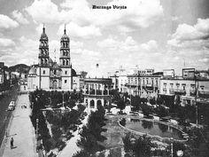 Plaza de Armas y Catedral de Durango Durango Mexico