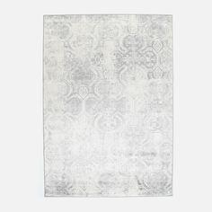 Hertex Fabrics - Anatolia Silver Rug Soft Colors, Colours, Hertex Fabrics, Decorating Ideas, Study, Contemporary, Rugs, Silver, Pattern