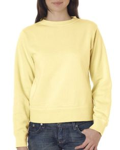Comfort Colors by Chouinard Women`s Crewneck Stylish Sweatshirt. 1596 $21.99