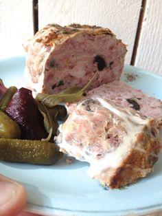 Terrine de porc aux noisettes et champignons... Cmesgouts.com cuisine thermomix