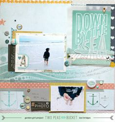 Shape Up Your Scrapbooking: by the sea by lexibridges @2peasinabucket