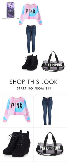 """Pink"" by meleal on Polyvore featuring Chicnova Fashion"