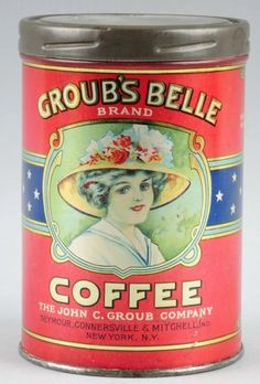 Groub's Belle Brand Coffee