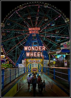 The Coney Island Wonder Wheel