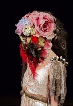 Surrealist Slip Dress with Fur, Spring 2005 Jun Takahashi