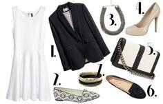 Biała sukienka z H&M w 3 stylizacjach na różne okazje