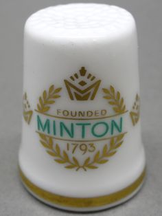 Minton-England. Edicion UK y USA. TCC. Thimble-Dedal-Fingerhut.
